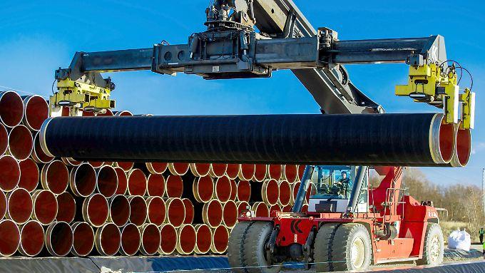 Die Gazprom-Tochter Nord Stream 2 hat bereits 4,7 Milliarden Euro in ihr Pipeline-Projekt investiert.