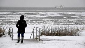 Dauerfrost im Norden: Viel Sonnenschein erhellt den Freitag
