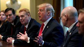"""EU plant Vergeltung für US-Strafzölle: Trump: """"Handelskriege sind gut und einfach zu gewinnen"""""""