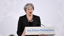 """""""Frage des Vertrauens"""": May schließt zweites Brexit-Referendum aus"""