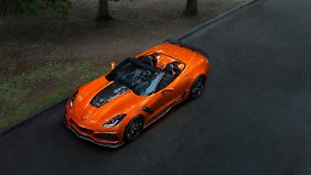 Chevrolet Corvette ZR1 Convertible.