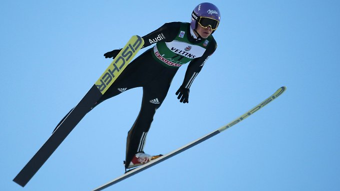 Andreas Wellinger ist weiter in Topform.