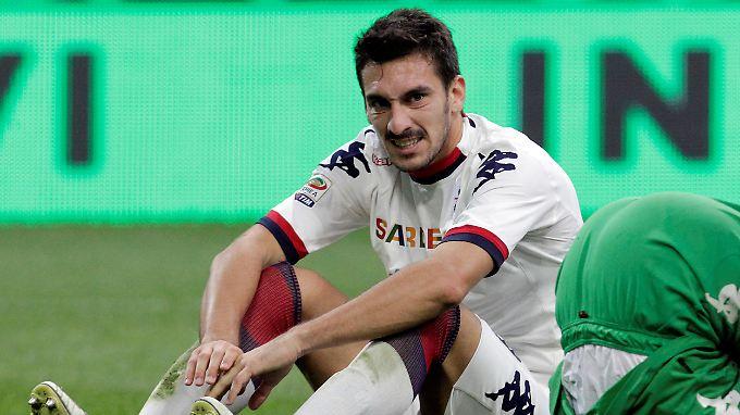 Für die italienische Nationalmannschaft lief Astori 14 Mal auf.