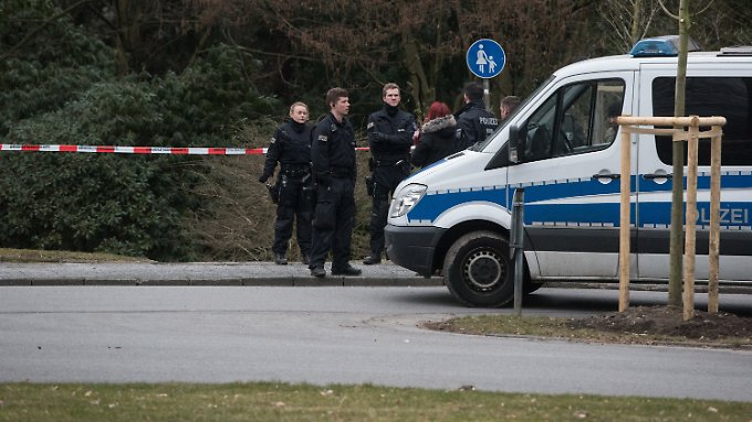 Der Tatort der Säureattacke in Haan bei Düsseldorf.