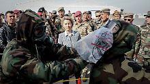Einigung für neues Mandat: Bundeswehr soll Soldaten im Irak ausbilden