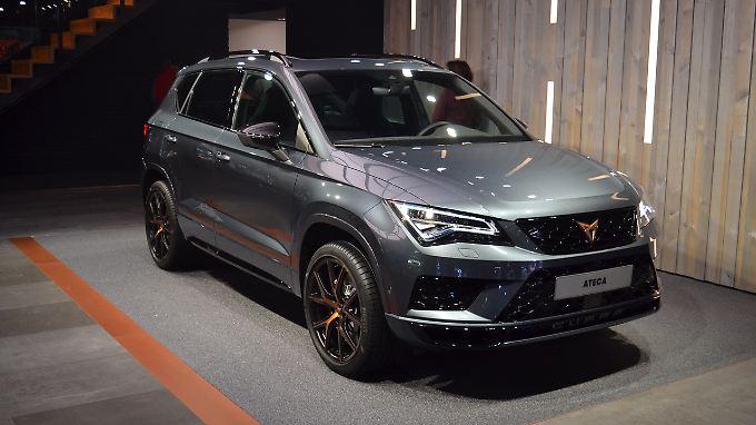 Der Ateca ist das erste Fahrzeug der neuen Marke Cupra.