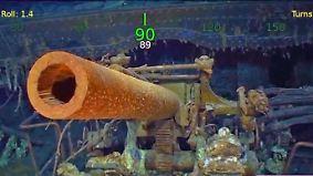 76 Jahre in 3000 Metern Tiefe: Microsoftgründer findet Weltkriegs-Flugzeugträger