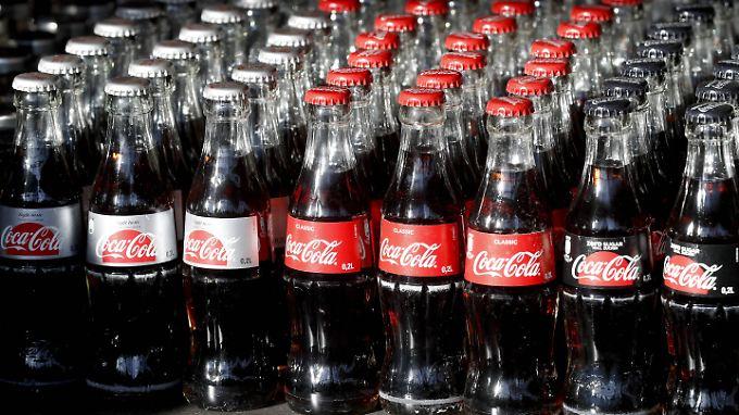 Das klassische Coca-Cola-Angebot.
