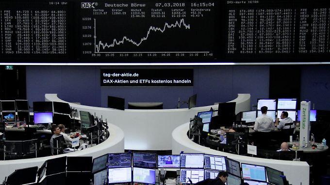 Der Börsen Tag Zins Zölle Dax Dürfte Vorsichtig Starten