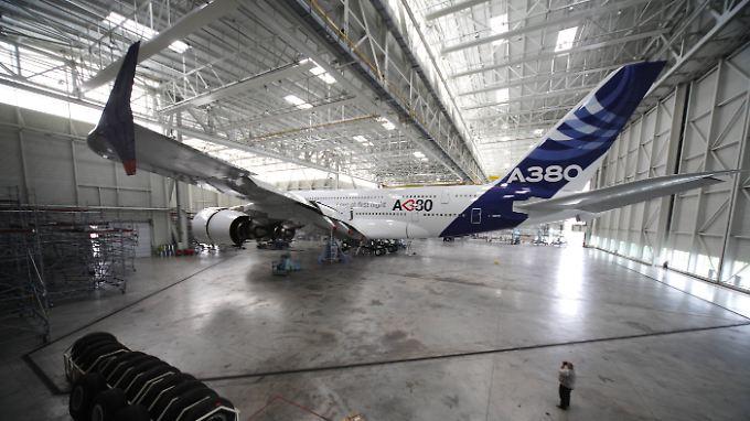 Auftragsflaute beim A380: Airbus stellt 3700 Stellen auf den Prüfstand