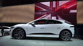Für 80.000 Euro soll der Jaguar i-Pace ab Sommer zu erwerben sein.