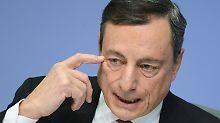 """Draghi attackiert Trump: """"Wer ist eigentlich der Feind?"""""""