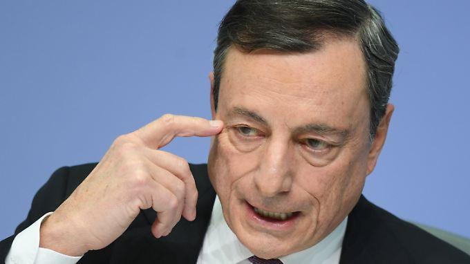 EZB-Chef Draghi zeigt sich besorgt über das Vorgehen der USA.