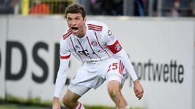 Thomas Müller spielt unter Jupp Heynckes wieder weltmeisterlich.