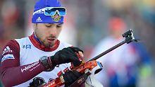 Biathlon-Weltcup in Finnland: Russe Schipulin siegt nach Olympia-Sperre