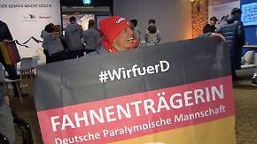 """Eskau trägt Fahne bei Paralympics: """"Ein wahnsinnig schönes Gefühl"""""""