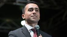 Wirtschaftsplan für Italien: Fünf Sterne schlagen Weg zu Regierung vor