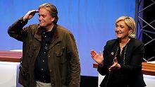 """Tosender Applaus für Bannon: Front National fordert """"Frexit""""-Votum"""