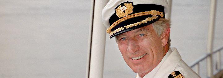 """Kapitän des """"Traumschiff"""": Siegfried Rauch stirbt im Alter von 85 Jahren"""