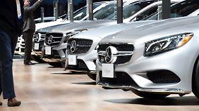 Keine Entschärfung in Sicht: Trump droht Mercedes und BMW mit Strafzöllen