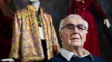 Audrey Hepburn war seine Muse: Modeschöpfer Hubert de Givenchy ist tot