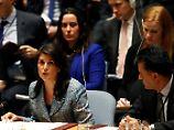 Haley im UN-Sicherheitsrat.