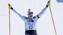Edelmetall in Pyeongchang: Biathletin Eskau holt Gold bei Paralympics