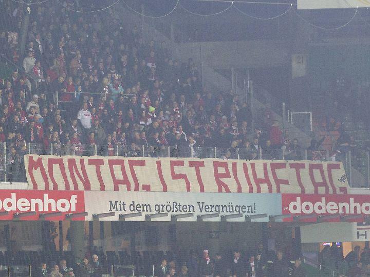 Ruhetag im Weserstadion.