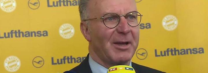 """Rummenigge zu Bayerns CL-Ambitionen: """"Sollten noch nicht vom Titel träumen"""""""