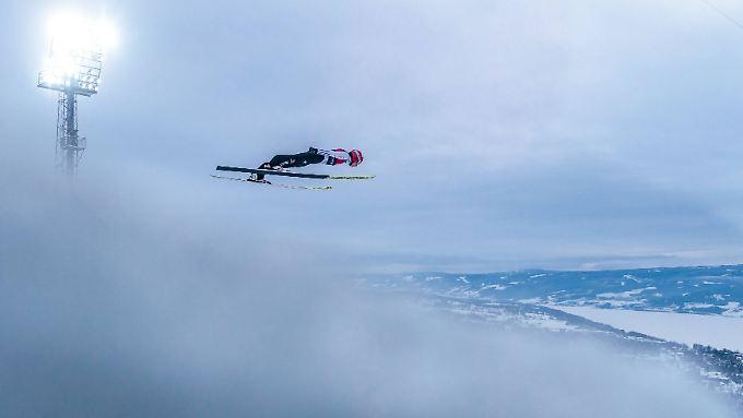 Super Sprung, schlechte Landung: Richard Freitag hadert mit seinem Auftritt in Lillehammer.