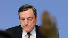 Der Börsen-Tag: EZB-Präsident unzufrieden mit Inflationsentwicklung