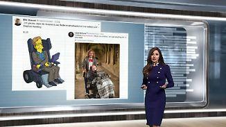 n-tv Netzreporterin: Internet nimmt Abschied von #StephenHawking