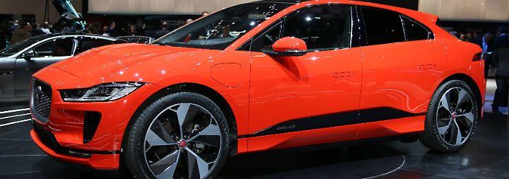 Stromer mit Persönlichkeit: Jaguar I-Pace macht Jagd auf Tesla
