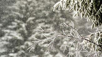 Nacht bringt Schnee und Minusgrade: Winter kehrt mit voller Wucht zurück