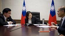 """China """"sehr unzufrieden"""": US-Vertreter wollen nach Taiwan reisen"""