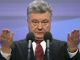"""""""Überlebt, weil EU zu uns steht"""": Poroschenko fordert Blauhelme für Ukraine"""