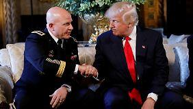 H.R. McMaster und Donald Trump - wie lange arbeiten sie noch zusammen?