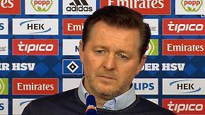 """HSV-Coach kontert Papadopoulos: """"Habe mich mit jedem Spieler intensiv ausgetauscht"""""""