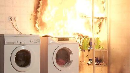 n tv ratgeber wenn die waschmaschine feuer f ngt n. Black Bedroom Furniture Sets. Home Design Ideas