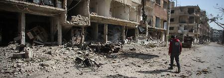 Weiter Angriffe auf Ost-Ghuta: Mehrere Kinder und Frauen sterben