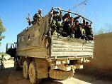 Syrische Soldaten in Ost-Ghuta.