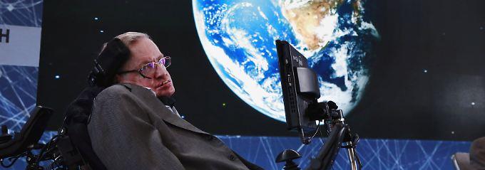 Stephen Hawking starb im Alter von 76 Jahren an der Nervenkrankheit ALS.