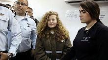 Deal mit Anklage: 17-jährige Palästinenserin muss in Haft