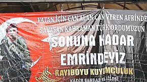 Zehntausende vertrieben: Syrien-Offensive befeuert türkischen Patriotismus