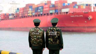 """""""Werden bis zum Ende kämpfen"""": China droht Trump mit Handelskrieg"""