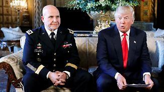 McMaster geht, Hardliner Bolton kommt: Trump setzt Sicherheitsberater vor die Tür