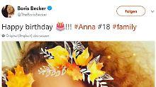 """""""Happy birthday"""": Becker gratuliert Tochter Anna - irgendwie"""