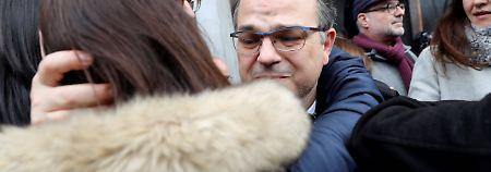 Wegen Unabhängigkeitsreferendum: Hochrangige Katalanen müssen in U-Haft