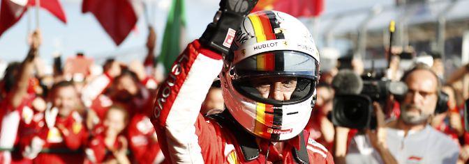 Formel-1-Auftakt in Australien: Ferrari und Vettel überraschen Hamilton und Mercedes