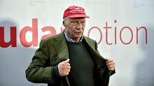 """Neid ist ein Hund"": Niki Lauda verteidigt Laudamotion-Verkauf"